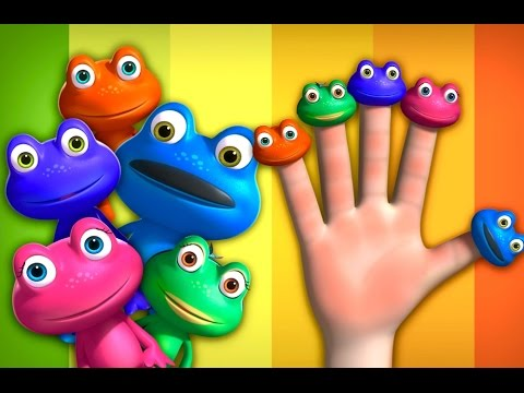 Frog Finger Family | Videogyan 3D Rhymes | Cartoon Animation For Children