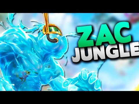 How to play Zac Jungle in Season 9 - League of Legends