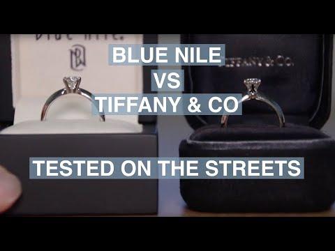 Blue Nile vs. Tiffany & Co – Street Test | The Diamond Pro