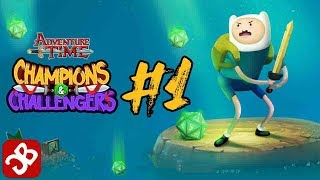Champions and Challengers - Adventure Time - Episode 1 : iOS/Android Walkthrough Gameplay