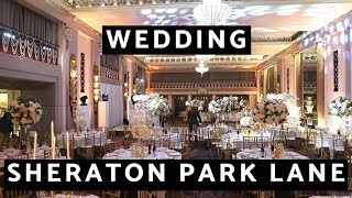 The Sheraton Grand London Wedding Reception - Flowers , Production And Decor