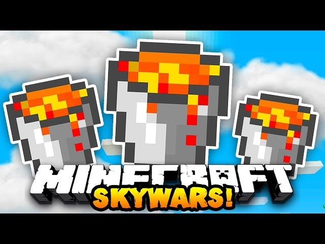 Minecraft-team-skywars-lava-warriors