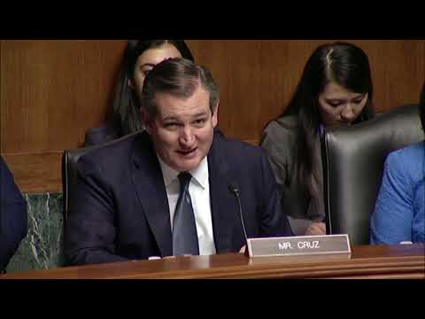 Sen. Cruz Chairs Subcommittee on the Constitution: Threats to Religious Liberty Around the World