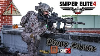 Hospital LMG Roof Top Sniper | Operation Bone Strike Gameplay