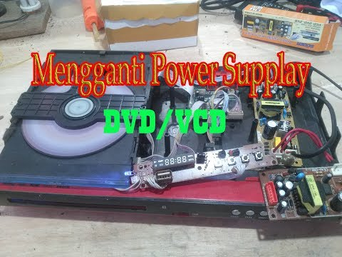 , title : 'Servis DVD Player Player Mati total dan Cara Mengganti Power Supply DVD/Regulator DVD'