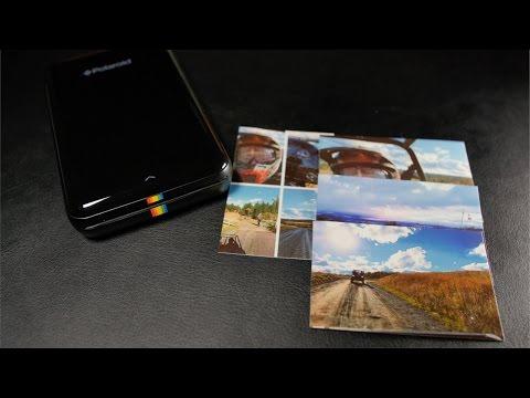 Polaroid Pocket Picture Printer?! (Review)