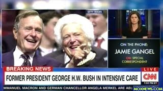 President George HW Bush Hospitalized!
