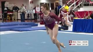 Anastasia Webb (Oklahoma) 2019 Floor vs Arkansas 9.85