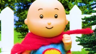 NEW! SUPER HERO CAILLOU | Cartoons for children | WATCH ONLINE | Caillou Stop Motion | cartoon movie