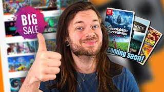 HUGE Sales, Upcoming Games & WHAT IS GOING ON WITH NINTENDO?