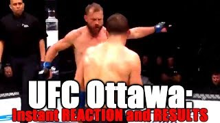 UFC Fight Night Ottawa: Reaction And Results