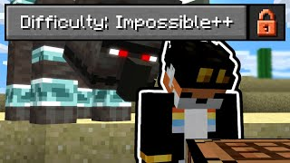 So I made Minecraft ACTUALLY impossible...