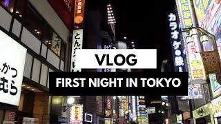 First Night in Shinjuku, Tokyo: VLOG!