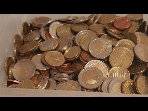 ICH bringe 4kg KLEINGELD zur BANK