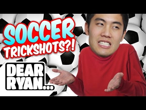 Soccer Trickshots! (Dear Ryan) (видео)