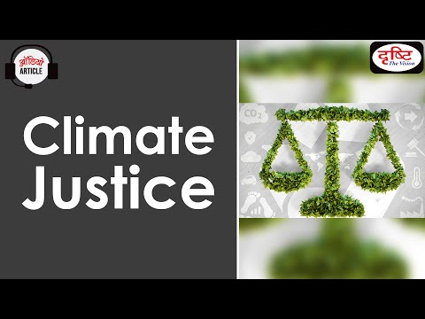 Climate Justice - Audio Article