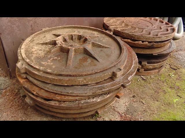 Похищенное имущество сдали в металлолом