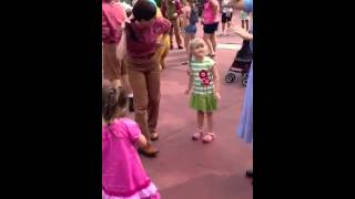 Emma Hokey Pokey at Magic Kingdom