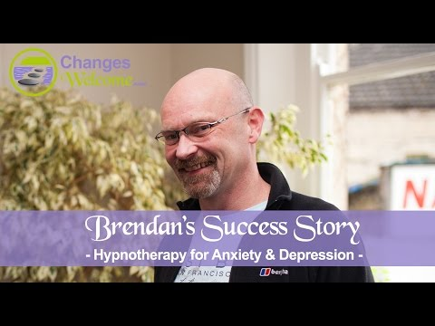 Brendan's Success Story - Depression & Anxiety - What our clients say - Changes Welcome Hypnotherapy