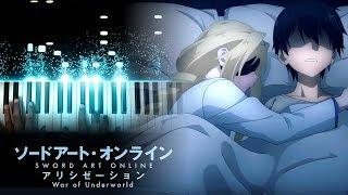 """Sword Art Online: Alicization - War of Underworld ED - """"unlasting"""" - LiSA (Piano)"""