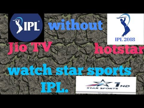 Play start sports and star channel without Jio TV & hoststar  // Sky