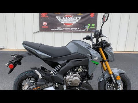 2020 Kawasaki Z125 Pro in Greenville, North Carolina - Video 1