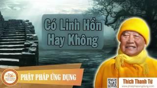 Có Linh Hồn Không - HT Thích Thanh Từ
