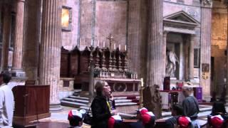 Смотреть онлайн Описание архитектуры древнего Пантеона богов в Риме