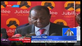 Jubilee Party denies reports of planning to favour some candidates in forthcoming nominations