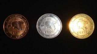 Turn coins silver and gold