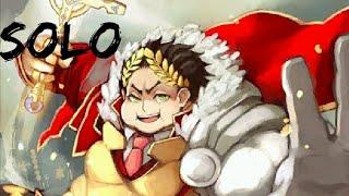 Gaius Julius Caesar  - (Fate/Grand Order) - Saber Gordinho espancando Tentáculo demônio gigante em 2min Julius Caesar Solo FGO 