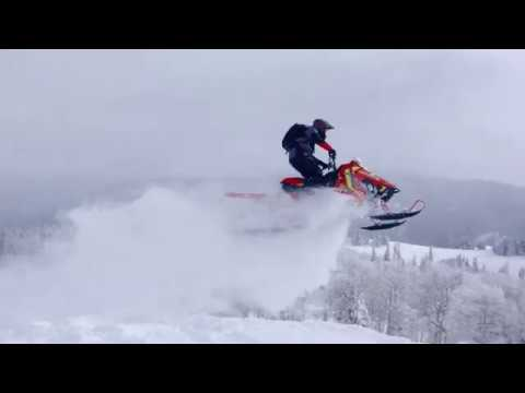 2021 Polaris 600 PRO RMK 155 Factory Choice in Soldotna, Alaska - Video 2