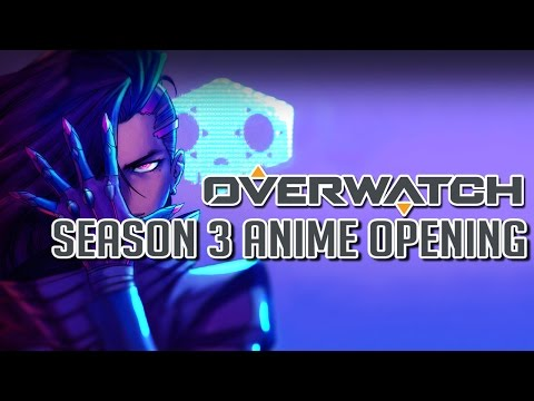 【MAD】Overwatch Season 3 Anime - Opening「Rise of Sombra」Fanart Edition | Mrs.GREEN APPLE - ナニヲナニヲ