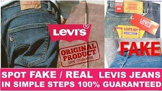 Levi's Jeans Real vs Fake 2020 | Spot Fake Levi's Jeans Immediately | IMKTECHNICALHUB