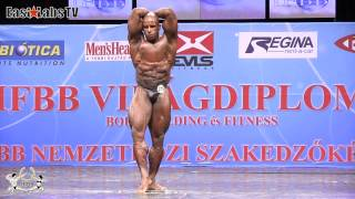 2012 World Championships BUDAPEST   master bodybuilding 40 49y up to 90kg   2