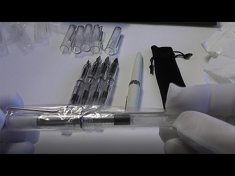 Посылки из Китая! Перьевые ручки с Алиэкспресс!