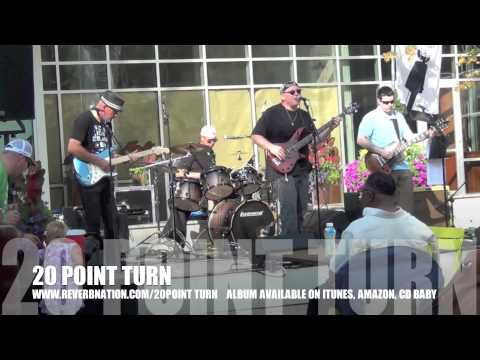 "20 POINT TURN ""Anything"" Live Downtown greenville, sc"