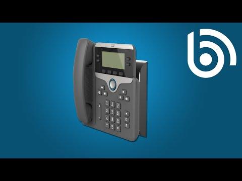 Cisco 7841 Voip Sip Phone 4 Lines 2 Ethernet Ports Poe