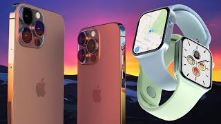 New iPhone 13 Leaks, Apple Watch 7 Design & iOS 15 Features!