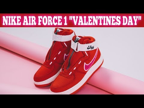 """Nike Air Force 1 High """"Valentine's Day"""""""