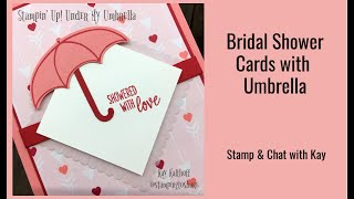 How to Make a Bridal Shower Card with Under My Umbrella