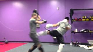 Ramy and Mike Sparring