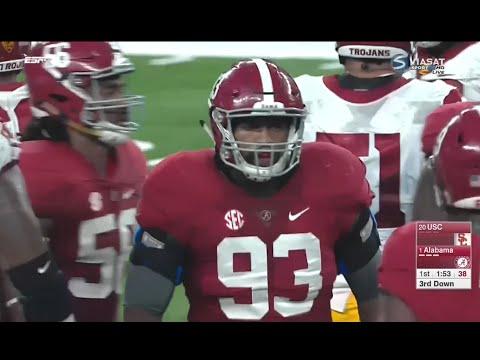 USC vs Alabama football 2016 / NCAAF 2016