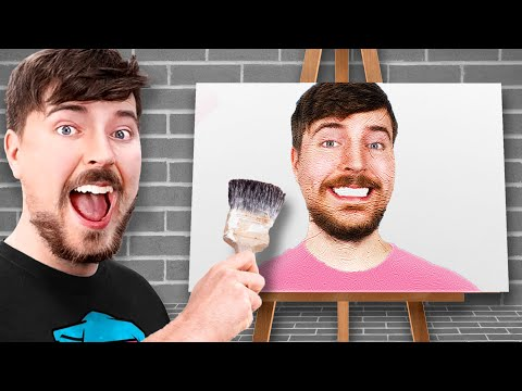 I Challenged MrBeast To An Art Competition And He Accepted! ft. MrBeast | ZHC Crafts