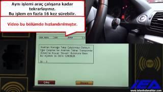"BMW CAS3+  Zed-FULL  ile OBD ÜZERİNDEN   ""KAYIP ANAHTAR"" PROGRAMLAMA"