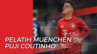 Pelatih Bayern Muenchen Puji Penampilan Coutinho saat Kontra Bremen