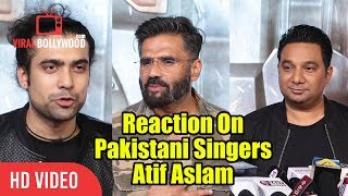 Reaction On Atif Aslam As Pakistani Singer | Baaghi O Saathi By Atif Aslam