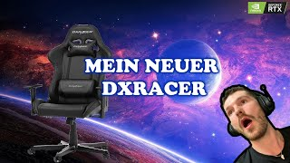 DXRACER Formula 8 Black!! Mein NEUER Gaming Stuhl ist da !!