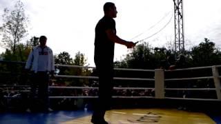 Братья Кличко, Открытая тренировка Виталия Кличко (Часть вторая)
