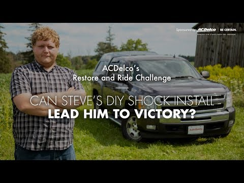 ACDelco's Restore and Ride Challenge - Can Steve's 2010 Chevrolet Silverado Lead Him to Victory?
